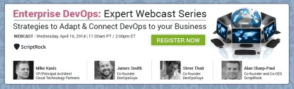 Enterprise DevOps Webinar